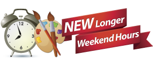 New Longer Weekend Hours