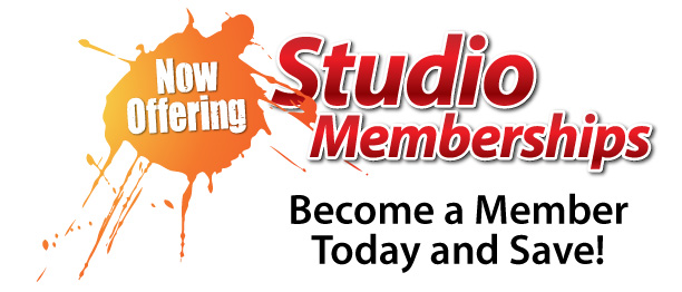 Studio Membership Now Available